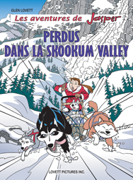 Perdus dans la Skookum Valley cover